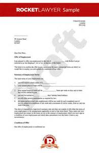 template offer of employment letter offer of employment letter create a offer letter