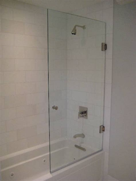 half glass door shower doors