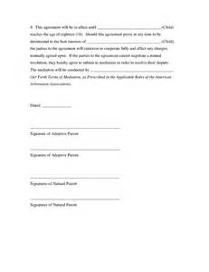 child visitation agreement template child custody agreement template bestsellerbookdb