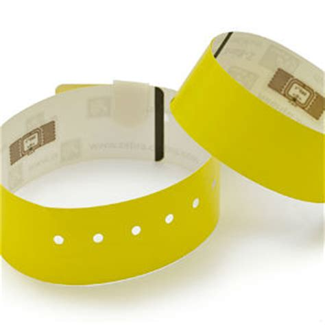 zebra printable wristbands laser thermal printable and rfid wristbands zebra