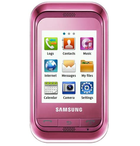 tester doank samsung touch screen pink