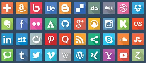 40 animated svg social media icons by dxc codecanyon