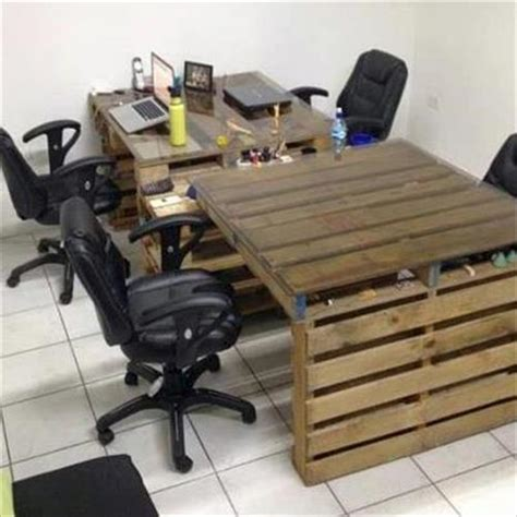 recycling office furniture diy recycle wooden pallets crates ideas pallets designs