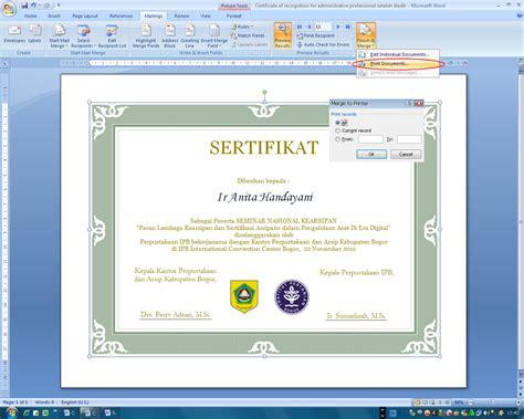 cara membuat watermark untuk sertifikat cara mudah membuat sertifikat coretan anak kus