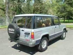 Isuzu Trooper Turbo Diesel Find Used 1986 Isuzu Trooper Ii Turbo Diesel 4x4 Factory