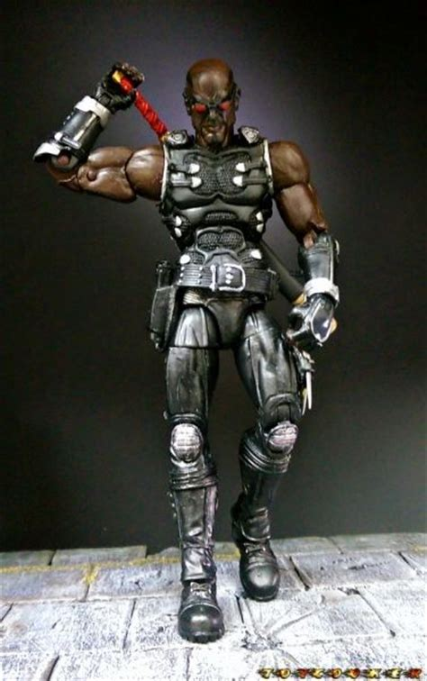 Blade Marvel Legends Hasbro Figure blade version 2 marvel legends custom figure custom figures by others and a