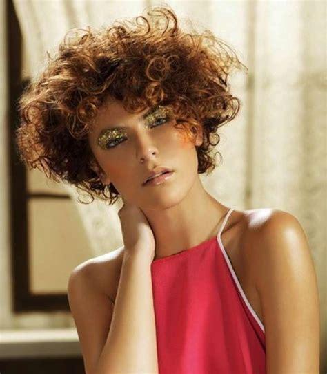 corte para cabello chino corto cortes de pelo rizado corto para mujeres 2014 fotos de