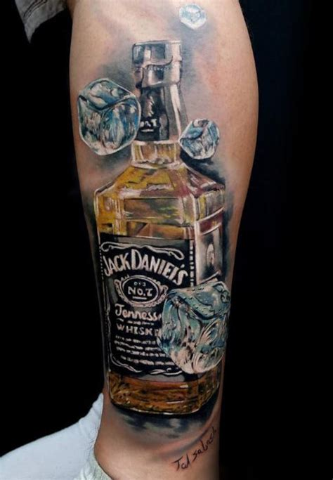ice cube tattoo 60 designs for whiskey ink ideas