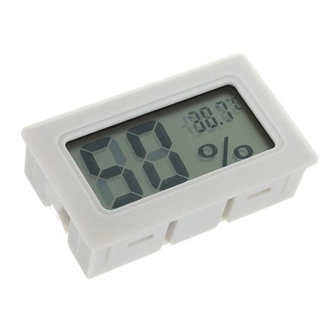 Digital Mini Thermometer mini digital lcd thermometer humidity meter hygrometer indoor alex nld