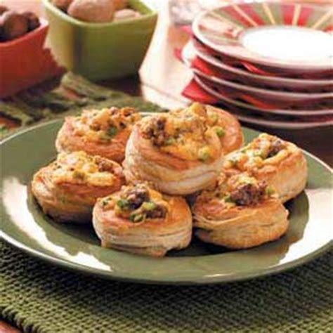 cajun christmas food ideas cajun canapes recipe taste of home