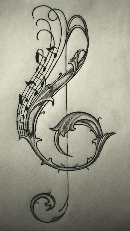 violin key drawing sketch the last rhapsody pinterest