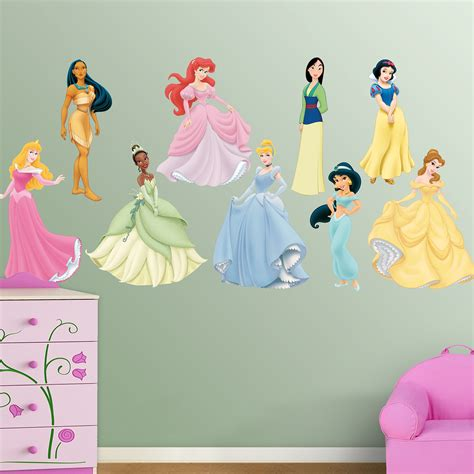 Great Holiday Giveaway From Fathead Wall Graphics Disney Princess Wall Decals For Rooms