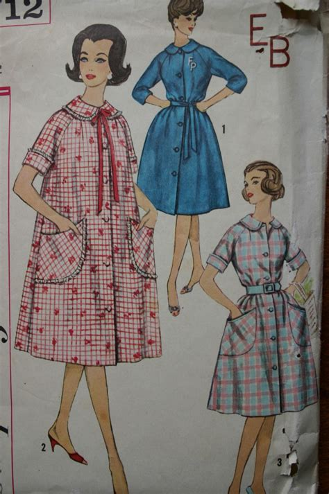 kimono nightgown pattern misses vintage robe nightgown pajamas pattern variety size
