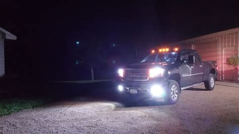 led lights for gmc sierra led headl and fog lights 2014 gmc sierra 3500hd denali 6