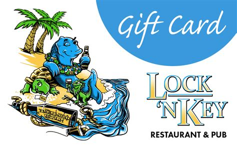 Restaurants That Offer E Gift Cards - gift card lock n key restaurant