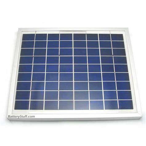 Solar Surya 12volt 5watt solarland 12 v 5 watt solar panel slp005 12u w