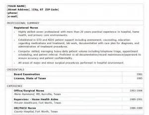 nursing resume sles 2013 registered resume registered resume template