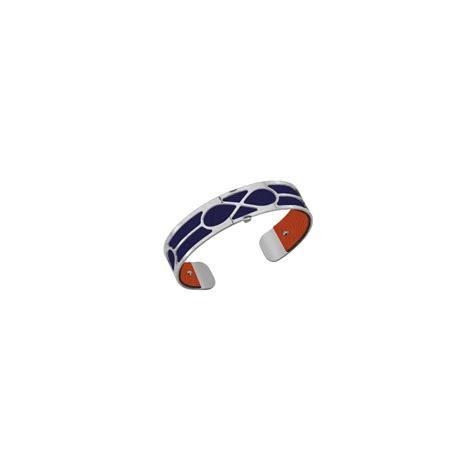 Bracelet femme Georgette Plaqué Argent et cuir reversible   003252