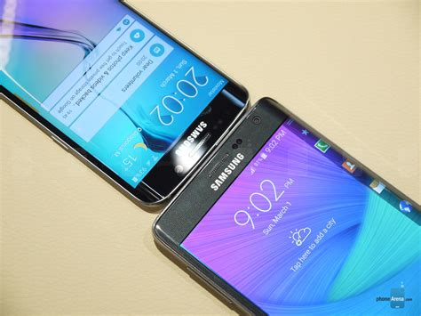 note 8 edge lighting poll results galaxy note edge vs galaxy s6 edge which