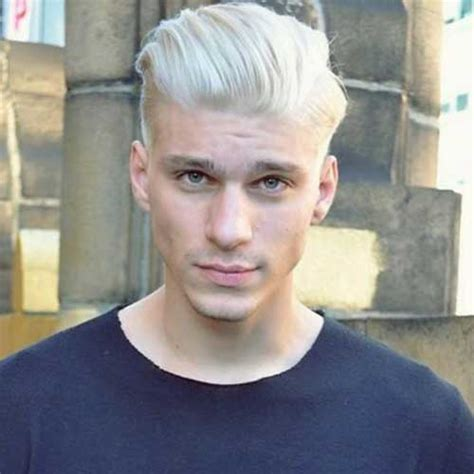 platinum with hombre 10 mens hair colour styles mens hairstyles 2018