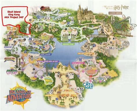 islands of adventure map universal studios orlando adventure island newhairstylesformen2014