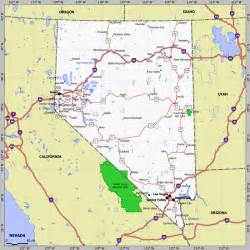 california nevada map with cities california cgrounds and rv parks listed by region