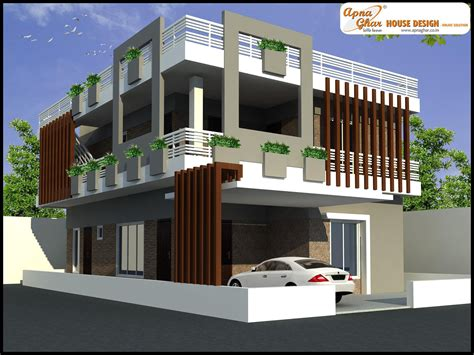 modern home design duplex modern duplex house design philippines