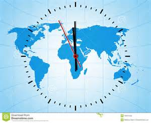 World Timings World Clock Stock Photos Image 19841043