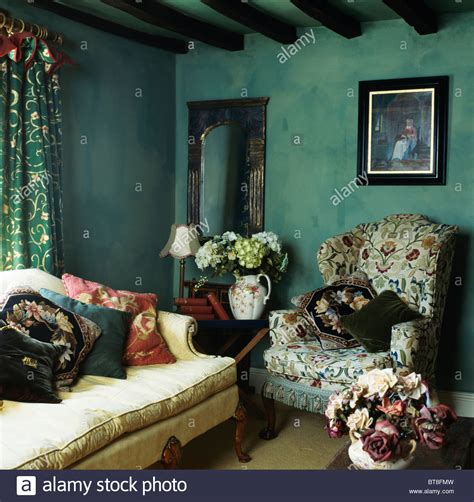 25 best ideas about dark green walls on pinterest dark picture on wall above patterned wing chair in dark green