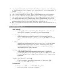 Email Marketing Resume Sample email marketing resume sample resume examples account representative