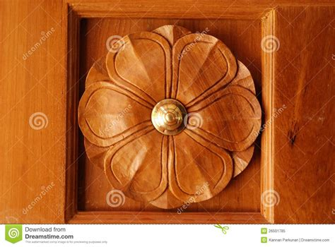 Door Frame Carving Designs by Wooden Door Frame With Beautiful Carving Designs Stock