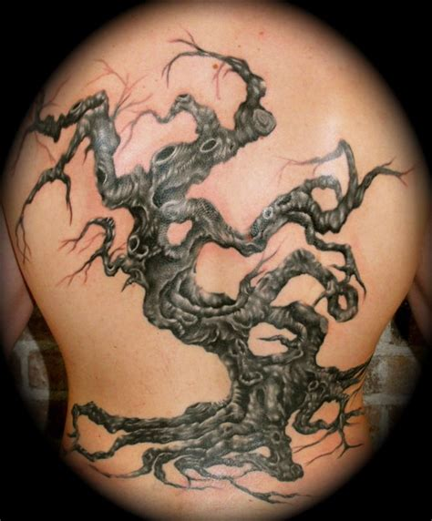 twisted tree tattoo designs tree definitely along the lines of what i want to