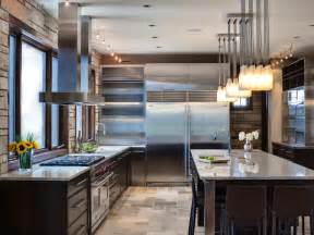 Kitchen Ideas With Stainless Steel Appliances Kitchen Backsplashes Kitchen Ideas Design With Cabinets Islands Backsplashes Hgtv