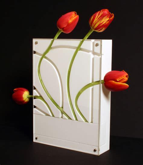 Modern Flower Vase by Modern Tabletop And Wall Mountable Flower Vases Shelterness