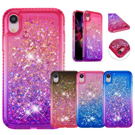 hyygedeal phone cases  iphone xr glitter diamond