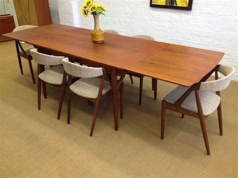 Modern Dining Table Chairs Mid Century Modern Dining Room Table Large And Beautiful