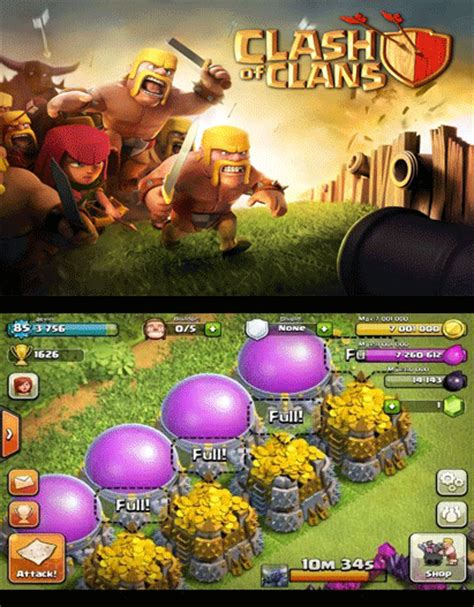 clash of clans boat hack clash of clans hack gif find share on giphy