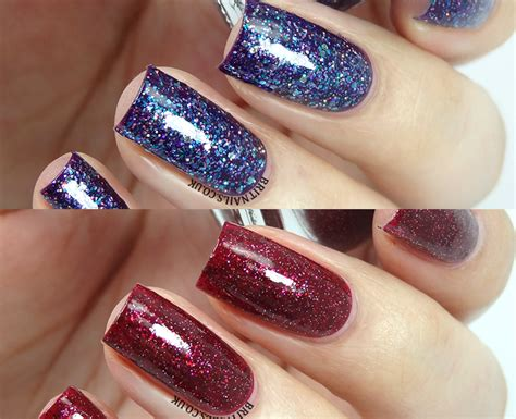 Swatch Cleo shimmer swatches cleo and brit nails