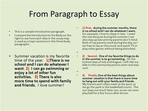 sle 5 paragraph essays sles of essay introduction paragraph 28 images