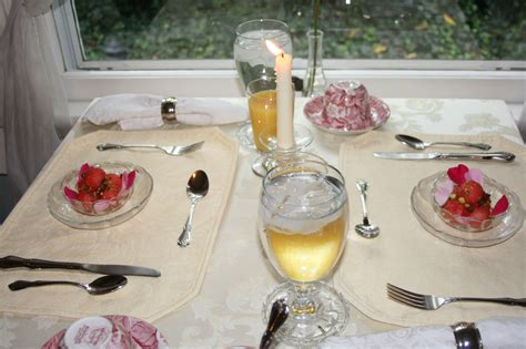 breakfast table for two recipes from the kitchen of a bed of roses a