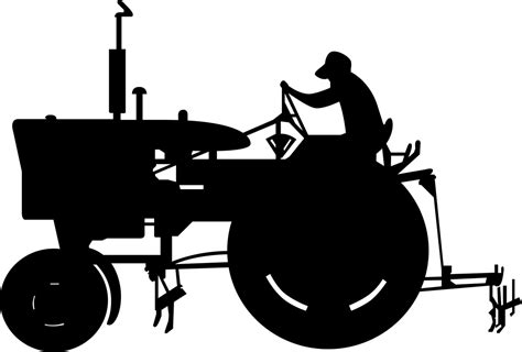 black and white clipart tractor clip images black and white 2018