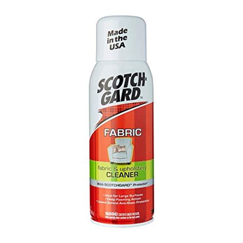 scotchgard fabric and upholstery cleaner 14 ounce