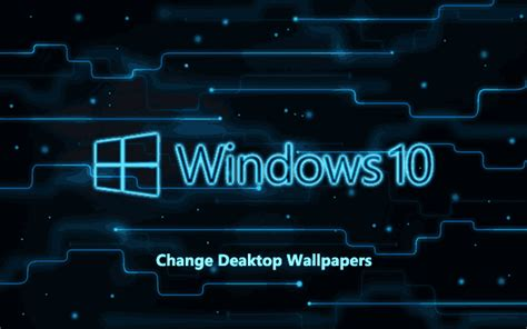 change windows  desktop wallpaper