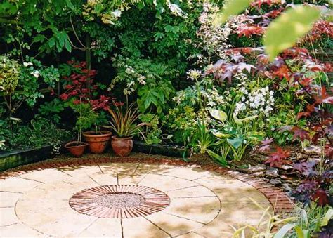 Patio Garden Design Images Plushemisphere Steps To Create A Comfortable A Patio Garden