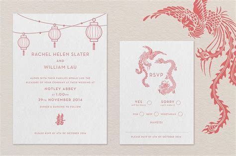 wedding invitation taiwanese modern letterpress wedding invitation my modern taiwanese style wedding inspiration