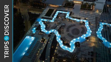 Backyard San Antonio Texas Shaped Lazy River At Marriott Marquis Houston Youtube