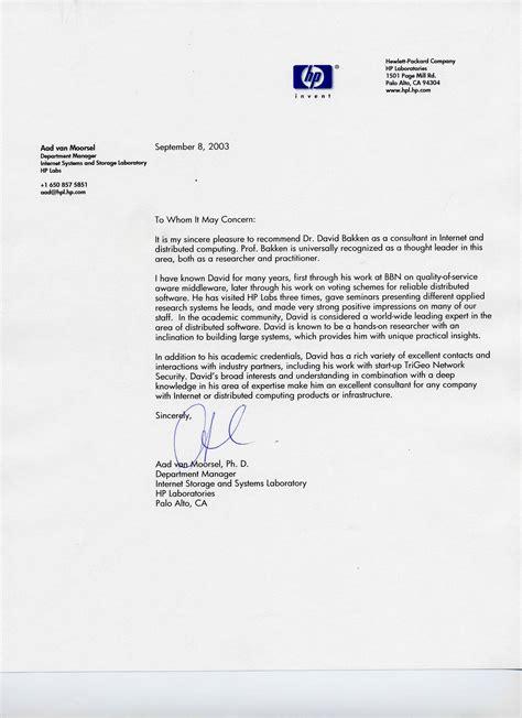 internship letter of recommendation internship letters livecareer
