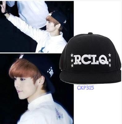Topi Snapback Exo 6i1m exo luhan rclq cap ღjewelgyu shopღ