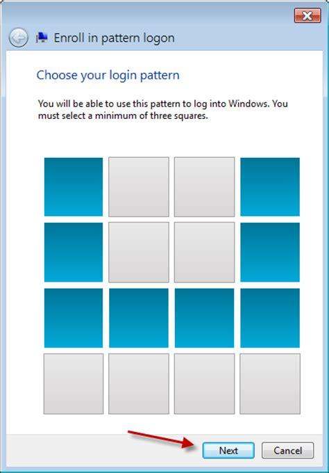 pattern password tweak windows 8 unlock pattern tutorial