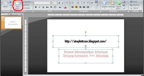 cara membuat slide power point jalan sendiri cara membuat slide baru pada microsoft office power point